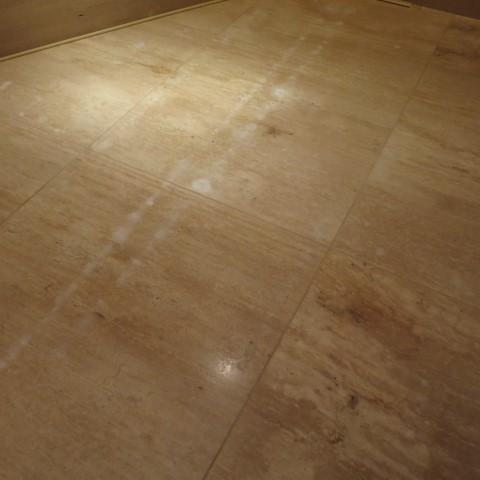大理石の床石に点々と白い抜けがのサムネイル