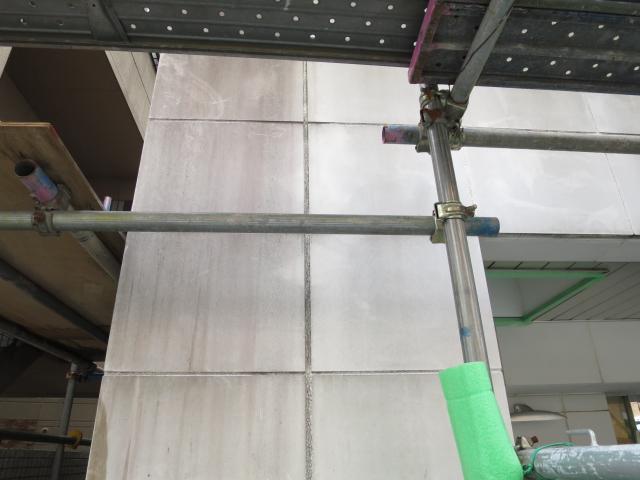 ライムストーン外壁のカビ除去洗浄と浸透性コートのサムネイル