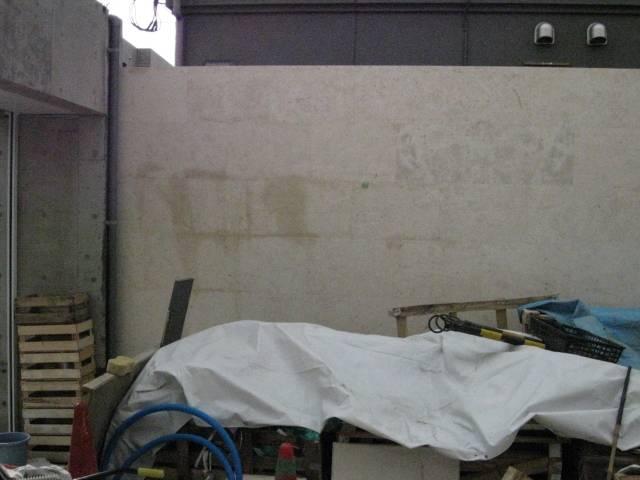 ジュラ系ライムストーンへ浸透性コート施工のサムネイル