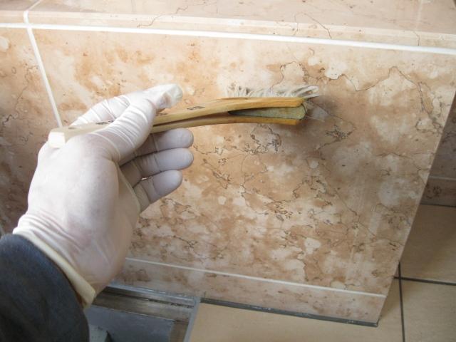 大理石(ペルリーノロザート)の劣化防止対策のサムネイル