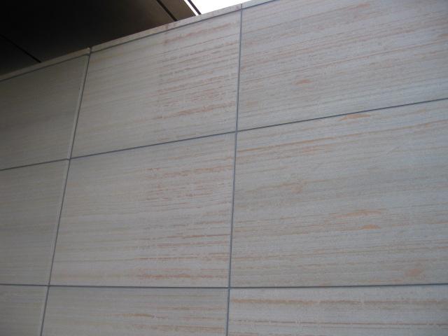 砂岩のサビ除去のサムネイル